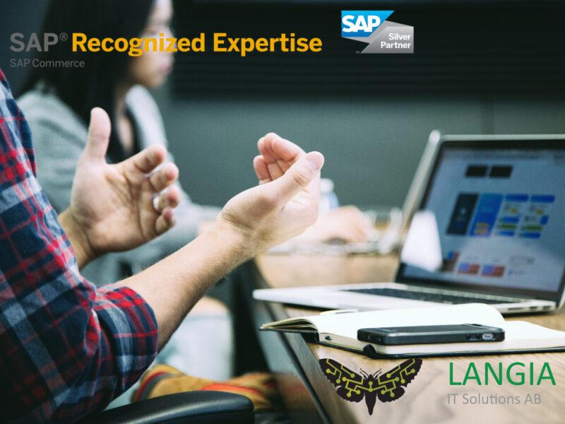 Optimera er produkthantering med SAP Commerce Cloud